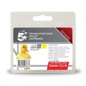 5 Star Canon CLI-8Y Yellow Compatible Ink Cartridge
